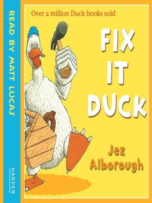 cover image of Fix-It Duck