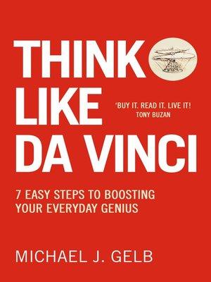 cover image of Think Like Da Vinci