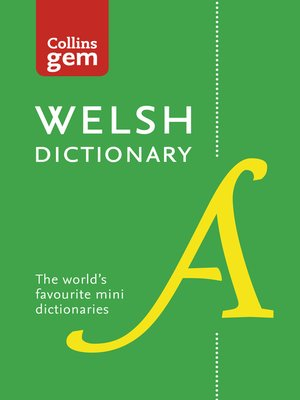 cover image of Collins Welsh Gem Dictionary