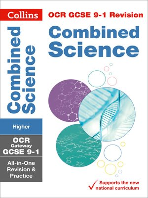 cover image of GCSE Combined Science Higher OCR Gateway Practice and Revision Guide