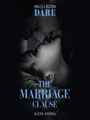 cover image of The Marriage Clause