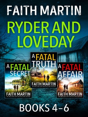 cover image of The Ryder and Loveday Series Books 4-6