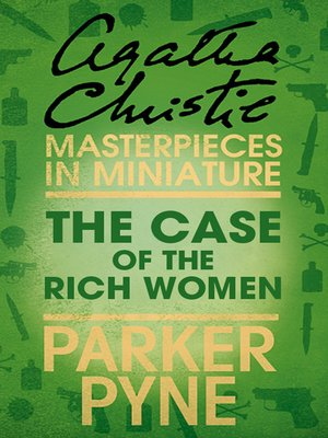 cover image of The Case of the Rich Woman
