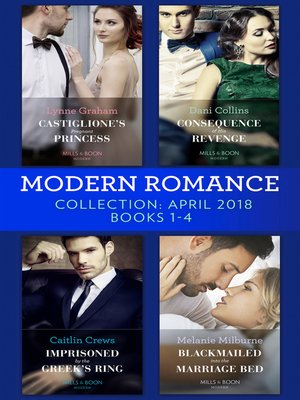 cover image of Modern Romance Collection, April 2018 Books 1--4