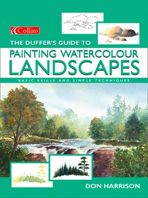 cover image of The Duffer's Guide to Painting Watercolour Landscapes