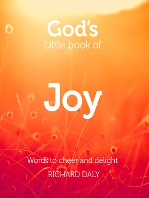 cover image of God's Little Book of Joy