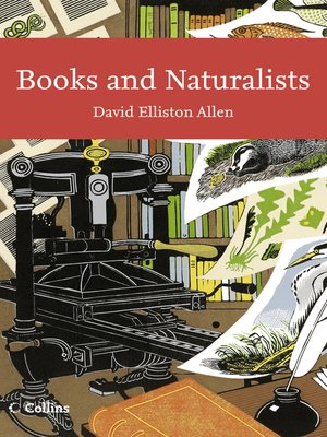 cover image of Books and Naturalists (Collins New Naturalist Library, Book 112)