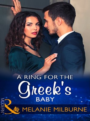 cover image of A Ring For the Greek's Baby