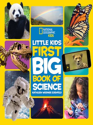 cover image of Little Kids First Big Book of Science