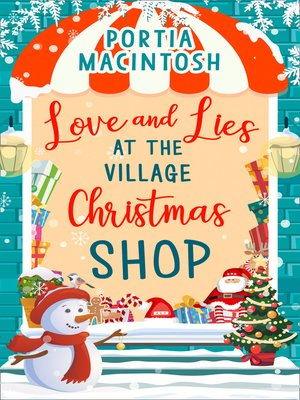 cover image of Love and Lies at the Village Christmas Shop