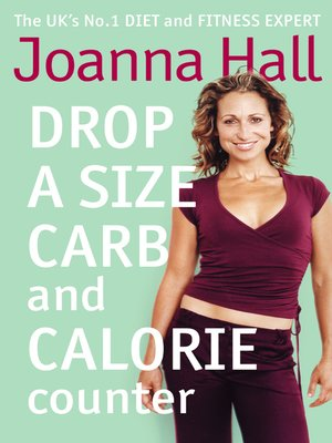 cover image of Drop a Size Calorie and Carb Counter