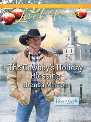 cover image of The Cowboy's Holiday Blessing