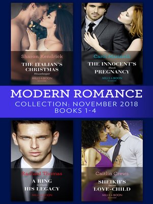 cover image of Modern Romance November Books 1-4