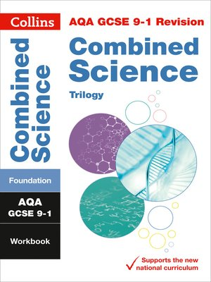 cover image of AQA GCSE 9-1 Combined Science Trilogy Foundation Workbook