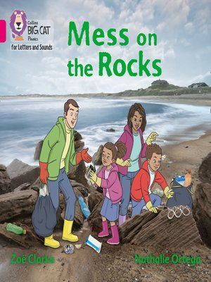 cover image of Collins Big Cat Phonics for Letters and Sounds – Mess on the Rocks