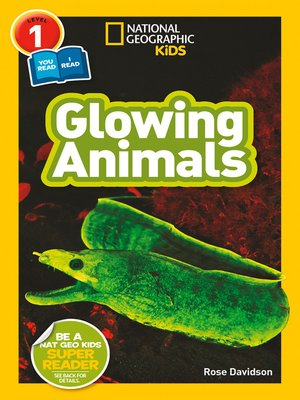 cover image of Glowing Animals