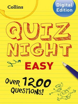cover image of Collins Quiz Night (Easy)