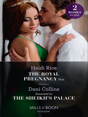 cover image of The Royal Pregnancy Test / Innocent In the Sheikh's Palace