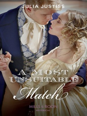 cover image of A Most Unsuitable Match