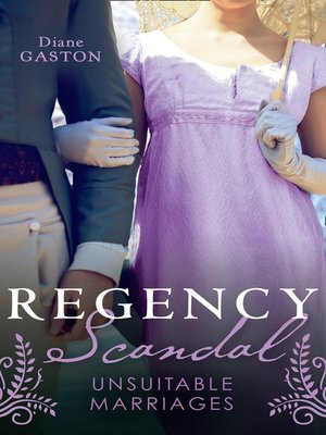 cover image of Regency Scandal
