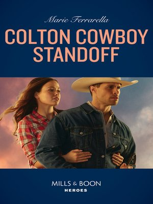 cover image of Colton Cowboy Standoff