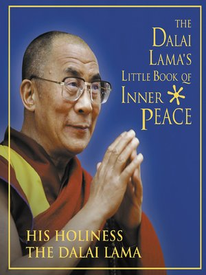 cover image of The Dalai Lama's Little Book of Inner Peace