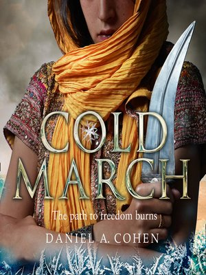 cover image of Coldmarch (The Coldmaker Saga, Book 2)