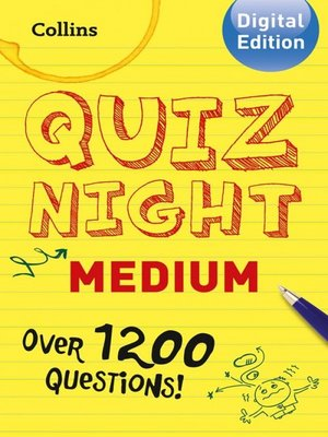 cover image of Collins Quiz Night (Medium)