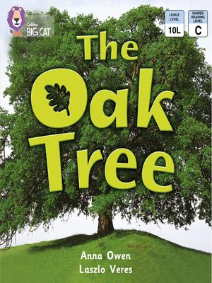 cover image of Collins Big Cat – the Oak Tree