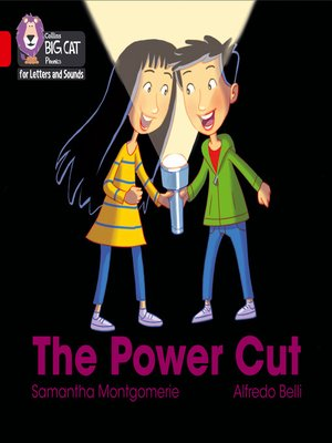 cover image of Collins Big Cat Phonics for Letters and Sounds – the Power Cut