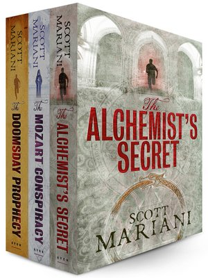 cover image of Scott Mariani 3 Book Bundle