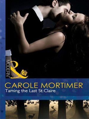 cover image of Taming the Last St. Claire