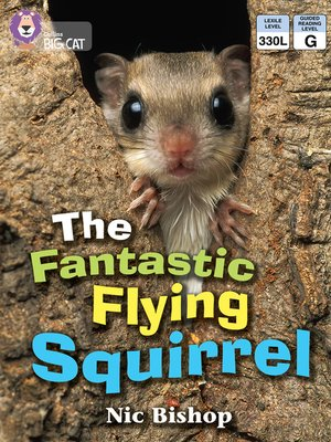 cover image of Collins Big Cat – the Fantastic Flying Squirrel