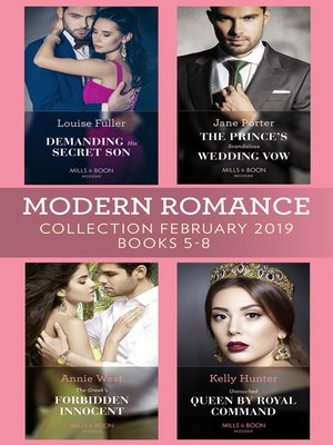 cover image of Modern Romance February Books 5-8