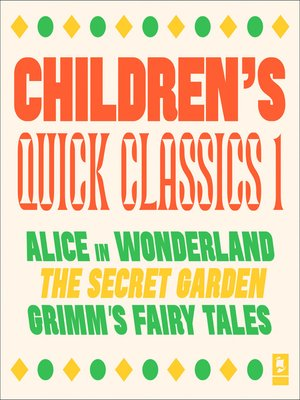 cover image of Quick Classics Collection, Children's 1