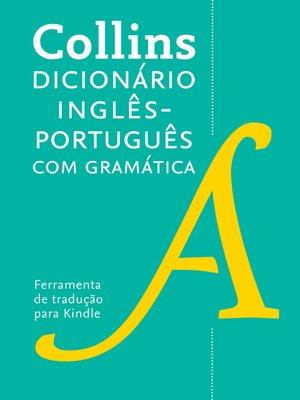 cover image of Dicionário Collins inglês – português