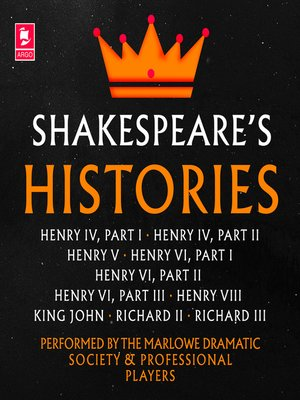 cover image of Shakespeare, The Histories