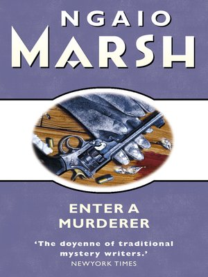 cover image of Enter a Murderer