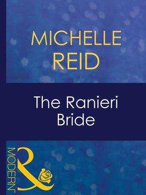 cover image of The Ranieri Bride