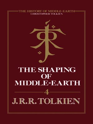 cover image of The Shaping of Middle-earth