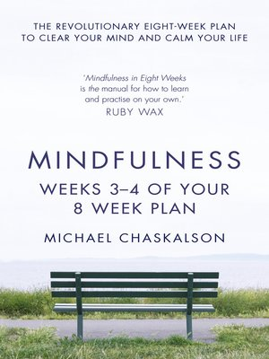 cover image of Mindfulness, Weeks 3-4 of Your 8-Week Program