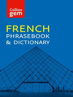 cover image of Collins French Phrasebook and Dictionary Gem Edition