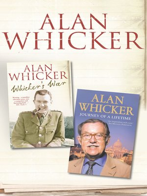 cover image of Whicker's War and Journey of a Lifetime