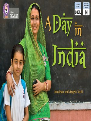 cover image of Collins Big Cat – a Day in India