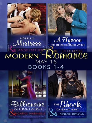 cover image of Modern Romance May 2016 Books 1-4