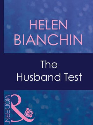 cover image of The Husband Test