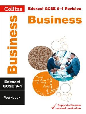 cover image of Edexcel GCSE 9-1 Business Workbook