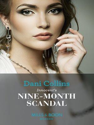cover image of Innocent's Nine-Month Scandal