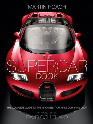 cover image of The Supercar Book for Boys