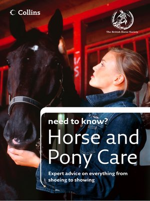 cover image of Horse and Pony Care